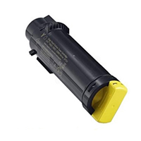 Dell 593-BBOZ Compatible High Yield Yellow Toner Cartridge