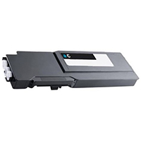 Dell 593-BCBF Compatible High Yield Cyan Toner Cartridge
