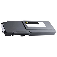 Dell 593-BCBD Compatible High Yield Yellow Toner Cartridge