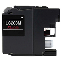 Brother LC203M Compatible Magenta Ink Cartridge