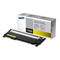 Samsung CLT-Y406S OEM Yellow Toner Cartridge