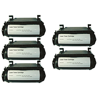 Lexmark 12A5745 Compatible Toner Cartridge 5-Pack