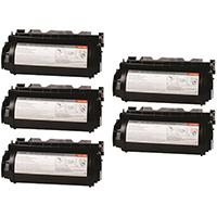 Lexmark 12A7362 Compatible Toner Cartridge 5-Pack