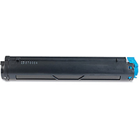 Okidata 43502001 Compatible High Yield Black Toner Cartridge