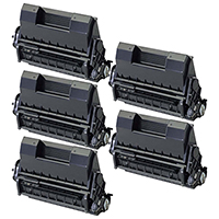 Okidata 52123603 Compatible High Yield Toner Cartridge 5-Pack