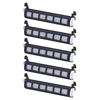Panasonic KX-FA83 Set of Five Cartridges Value Bundle