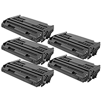 Panasonic UG-5540 Set of Five Compatible Toner Cartridges Value Bundle