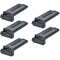 Toner Cartridge 5-Pack Compatible With Samsung SCX-5312D6