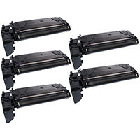 Compatible Toner Cartridge 5-Pack Value Bundle for Samsung SCX-6320D8