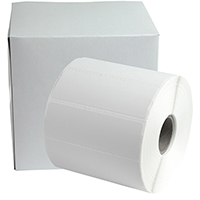 "Zebra Compatible 3"" x 1"" Thermal Labels (1"" Core, 1375 Labels per Roll)"