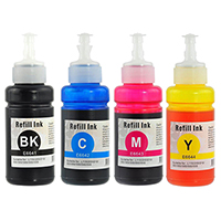 Epson T664 Compatible Ink Bottle 4-Pack