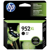 Genuine HP F6U19AN (HP 952XL) High Yield Black Ink Cartridge - OEM