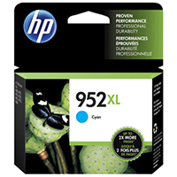 Genuine HP L0S61AN (HP 952XL) High Yield Cyan Ink Cartridge - OEM