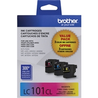 Brother LC1013PKS OEM Combo Pack (C/M/Y) Ink Cartridge