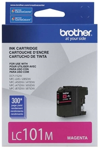 Brother LC101M OEM Magenta Ink Cartridge