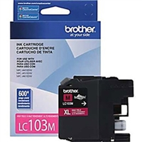 Brother LC103M OEM High Yield Magenta Ink Cartridge