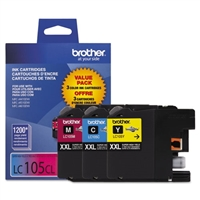 Brother LC1053PKS OEM Combo Pack (C/M/Y) Ink Cartridge