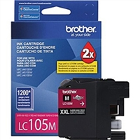 Brother LC105M OEM Super High Yield Magenta Ink Cartridge