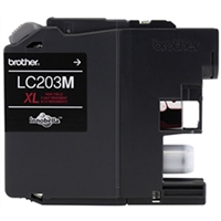Brother LC203M OEM High Yield Magenta Ink Cartridge