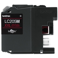 Brother LC205M OEM Super High Yield Magenta Ink Cartridge