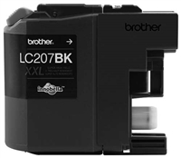 Brother LC207BK OEM Super High Yield Black Ink Cartridge
