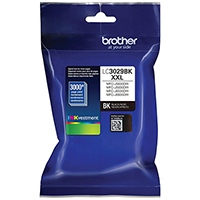 Genuine Brother LC3029BK Black Ink Cartridge - OEM