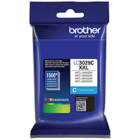 Genuine Brother LC3029C Cyan Ink Cartridge - OEM