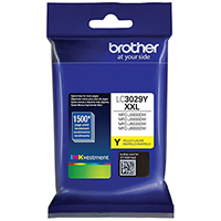 Genuine Brother LC3029Y Yellow Ink Cartridge - OEM