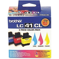 Brother LC413PKS OEM Combo Pack (C/M/Y) Ink Cartridge