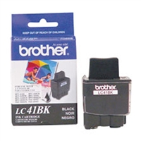 Brother LC41BK OEM Black Ink Cartridge