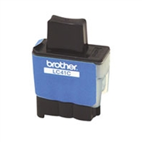 Brother LC41C OEM Cyan Ink Cartridge