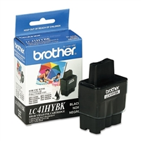 Brother LC41HYBK OEM High Yield Black Ink Cartridge