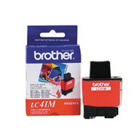 Brother LC41M OEM Magenta Ink Cartridge