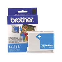 Brother LC51C OEM Cyan Ink Cartridge