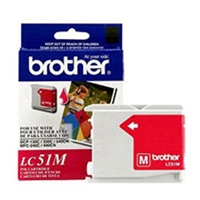 Brother LC51M OEM Magenta Ink Cartridge