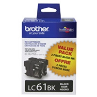 Brother LC612PKS OEM 2 Black Inkjet Cartridge Multipack