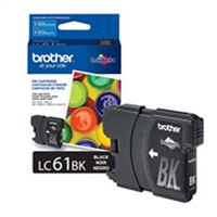 Brother OEM LC61BK Black Ink Cartridge
