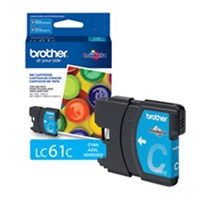 Brother OEM LC61C Cyan Ink Cartridge