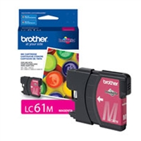 Brother OEM LC61M Magenta Ink Cartridge