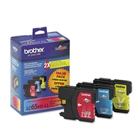 Brother LC653PKS OEM Combo Pack (C/M/Y) Ink Cartridge