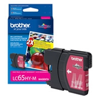Brother LC65HYM OEM High Yield Magenta Ink Cartridge