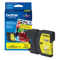 Brother LC65HYY OEM High Yield Yellow Ink Cartridge