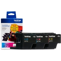 Brother LC713PKS OEM Combo Pack (C/M/Y) Ink Cartridge