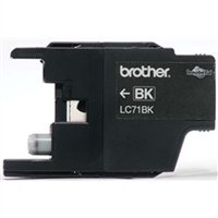 Brother LC71BK OEM Black Ink Cartridge