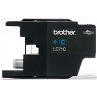 Brother LC71C OEM Cyan Ink Cartridge