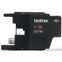 Brother LC71M OEM Magenta Ink Cartridge