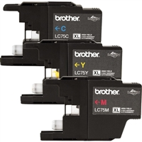 Brother LC753PKS OEM Combo Pack (C/M/Y) Ink Cartridge