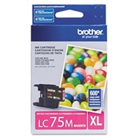 Brother LC75M OEM Magenta Ink Cartridge