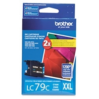 Brother LC79C OEM Cyan Ink Cartridge
