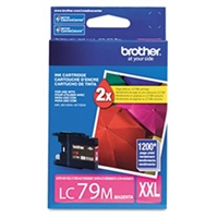 Brother LC79M OEM Magenta Ink Cartridge
